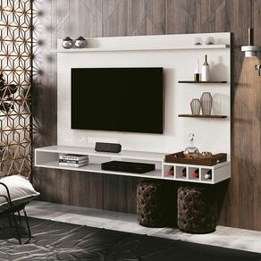Painel para TV 55 Polegadas Palladium Off White 180 cm