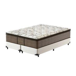 Cama-Box-Super-King-Branca---Colchao-de-Molas-Prolastic---Probel---Guarda-Costas-Platinum-193x203x69cm