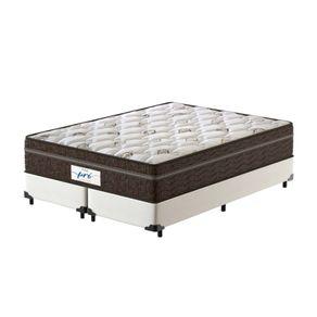 Cama-Box-Super-King-Branca---Colchao-de-Molas-Ensacadas---Probel---Pro-Sleep-Max---193x203x65cm