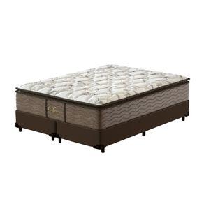 Cama-Box-Super-King-Marrom---Colchao-de-Molas-Prolastic---Probel---Guarda-Costas-Platinum-193x203x69cm