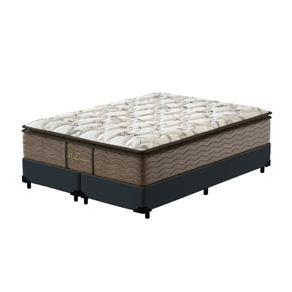 Cama-Box-Queen-Cinza---Colchao-de-Molas-Prolastic---Probel---Guarda-Costass-Platinum-158x198x69cm