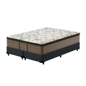 Cama-Box-Super-King-Cinza---Colchao-de-Molas-Prolastic---Probel---Guarda-Costass-Platinum-193x203x69cm