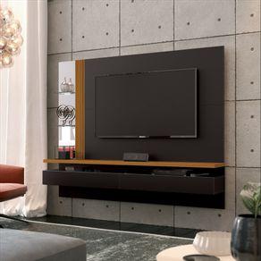 Painel-para-TV-ate-60-Polegadas-Tupa-Preto-e-Cedro-Natural-180cm